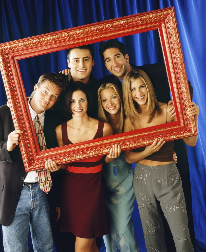 Friends - Matthew Perry, Courteney Cox, Lisa Kudrow, Jennifer Aniston, Matt LeBlanc, David Schwimmer
