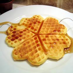Waffles de lujo