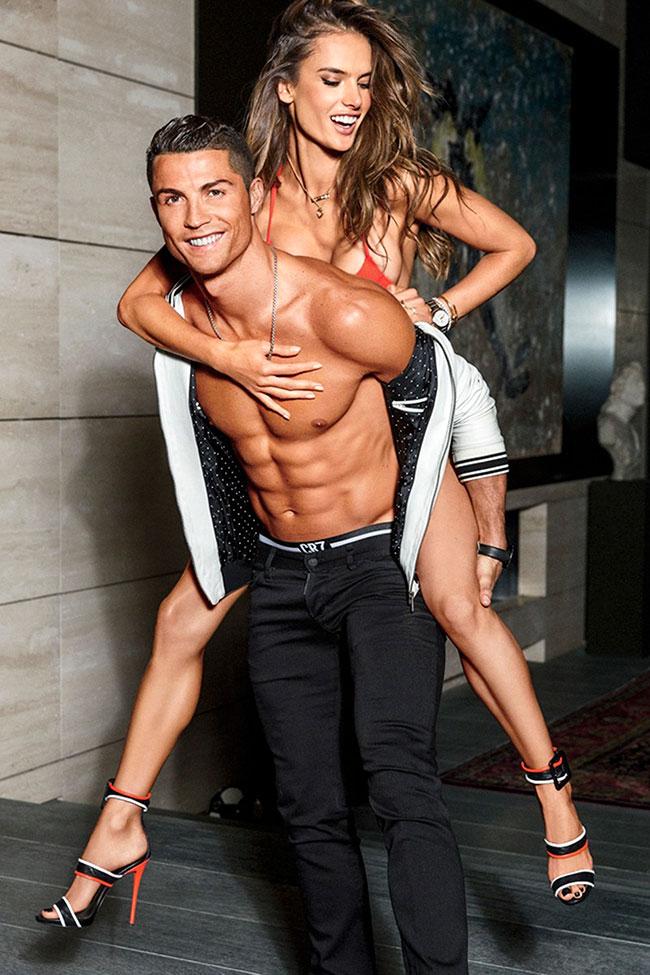 Cristiano Ronaldo, Alessandra Ambrosio
