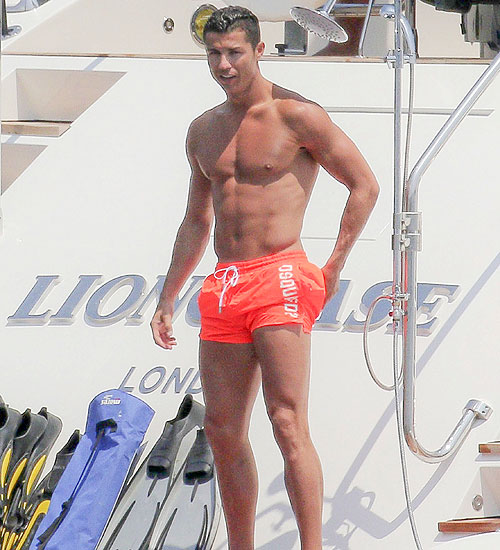 CRISTIANO RONALDO, papacitos