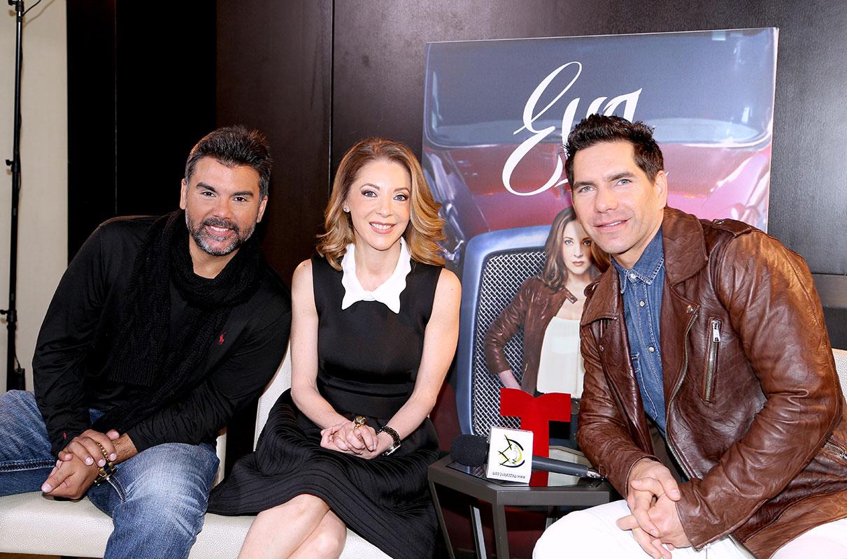 Edith González, Jorge Luis Pila, Arap Bethke, Eva la Trailera, Telemundo