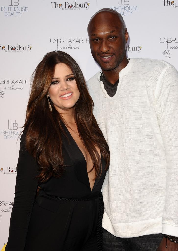 Khloe Kardashian, y Lamar Odom