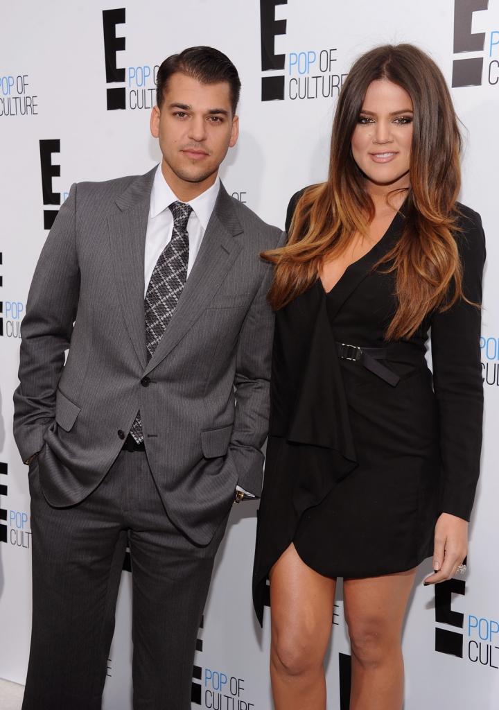Khloe Kardashian y Rob Kardashian