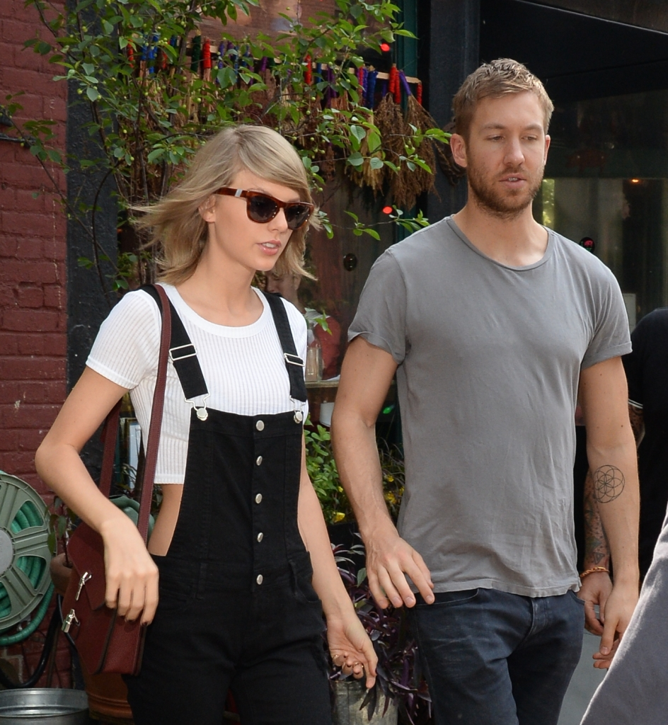 Taylor Swift; y Calvin Harris