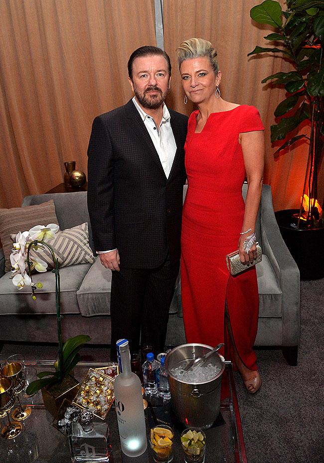 Ricky Gervais, Jane Fallon