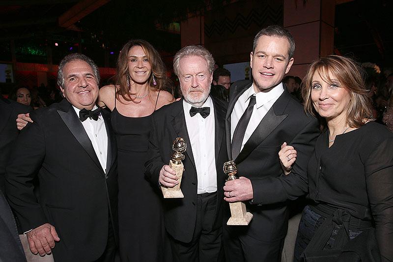 Matt Damon, Ridley Scott