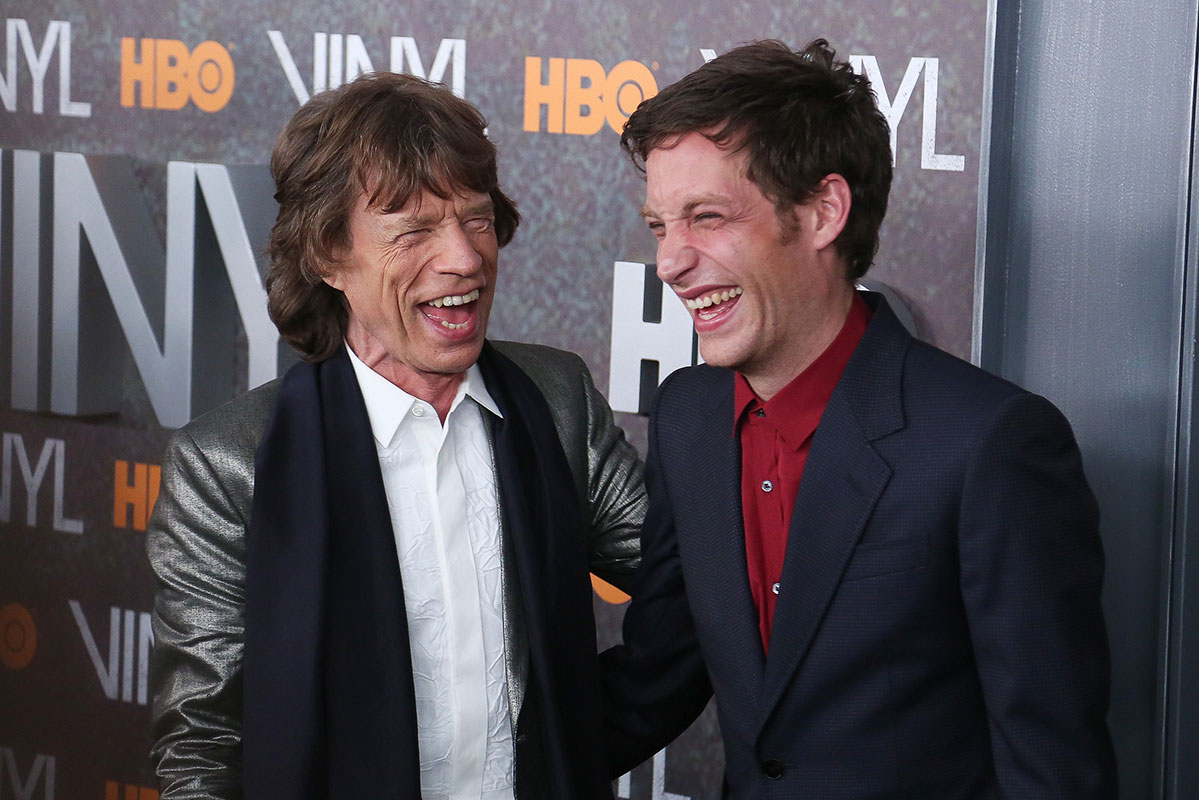 Mick Jagger, James Jagger, Míralos