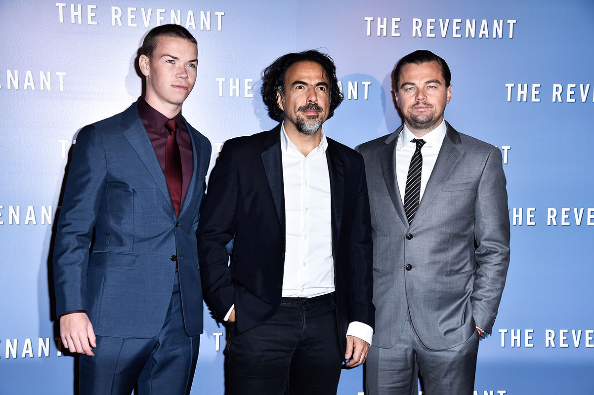 Alejandro Gónzalez Iñárritu, Will Poultner, Leonardo DiCaprio, Míralos