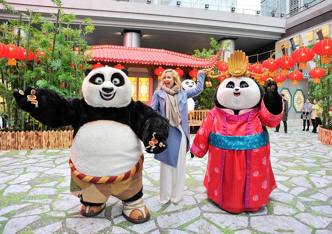 Kate Hudson, Kung Fu Panda 3