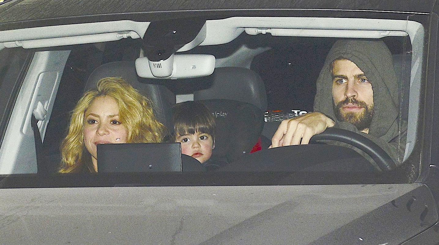 MIralos Shakira, Gerard Piqué, Milan