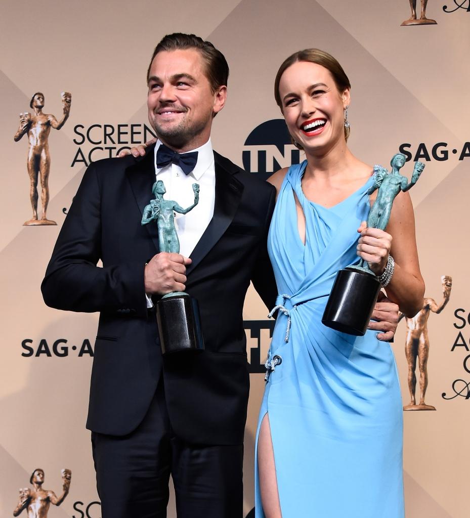 Leonardo DiCaprio, Brie Larson