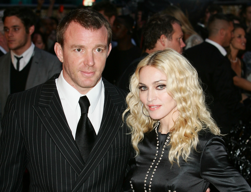 Guy Ritchie y Madonna
