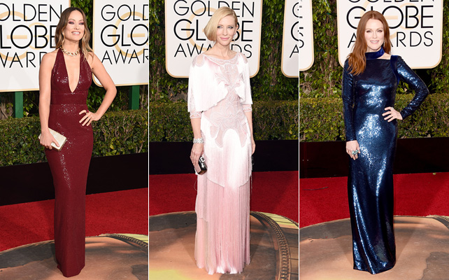 Golden Globes, vestidos, alfombra roja, red carpet, cate blanchett, instyle