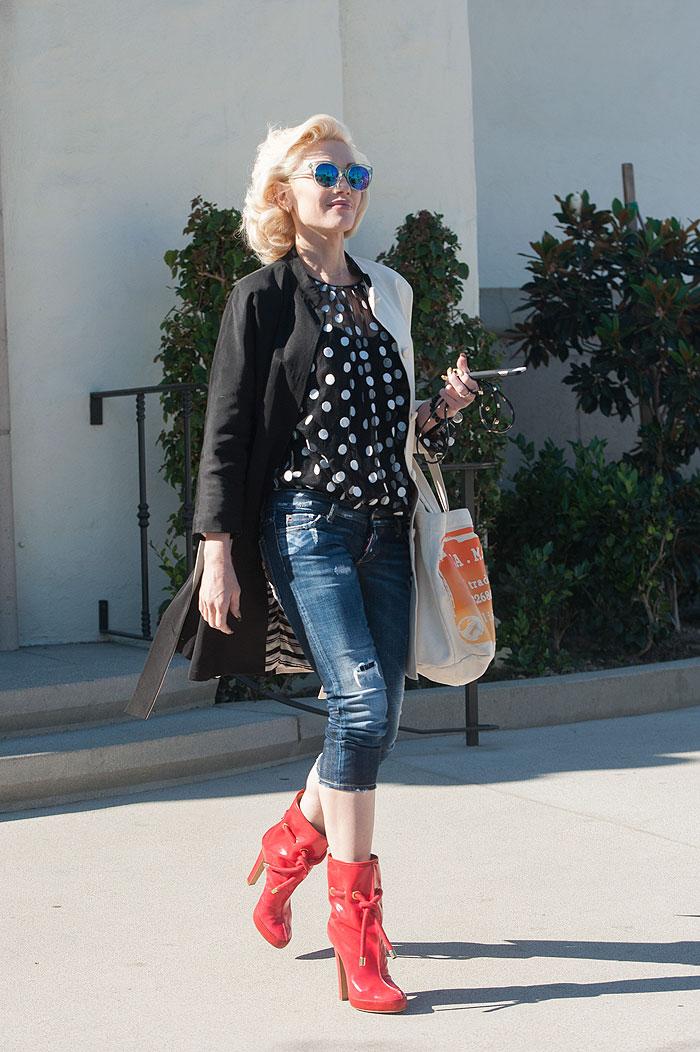 Gwen Stefani, lunares