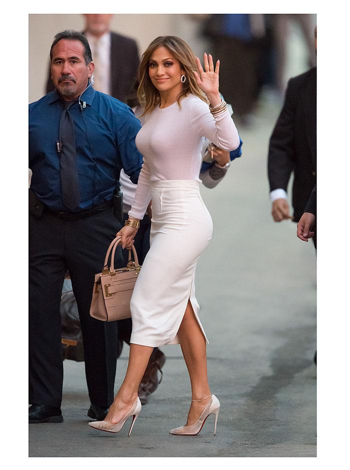 Jennifer López, look del día