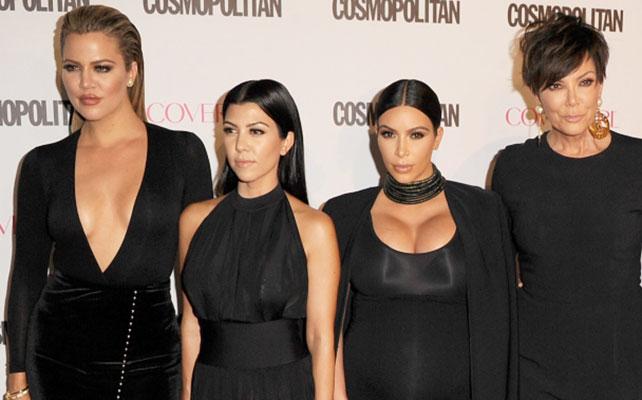 Khloé Kardashian, Kourtney Kardashian, Kim Kardashian y Kris Jenner