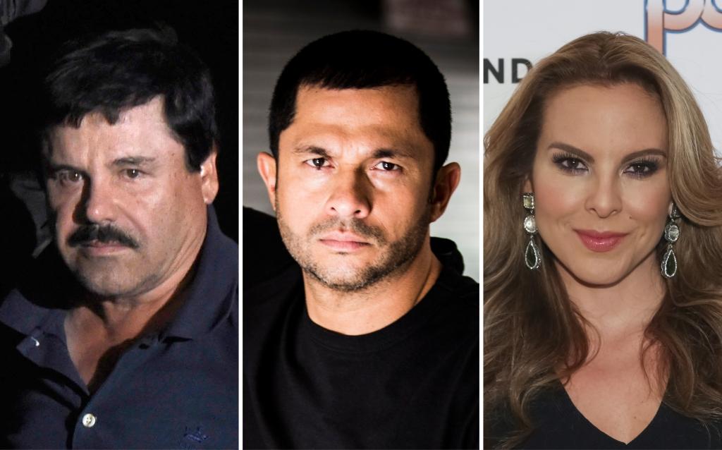 Joaquín 'El Chapo' Guzmán, Andres López López, y Kate del Castillo
