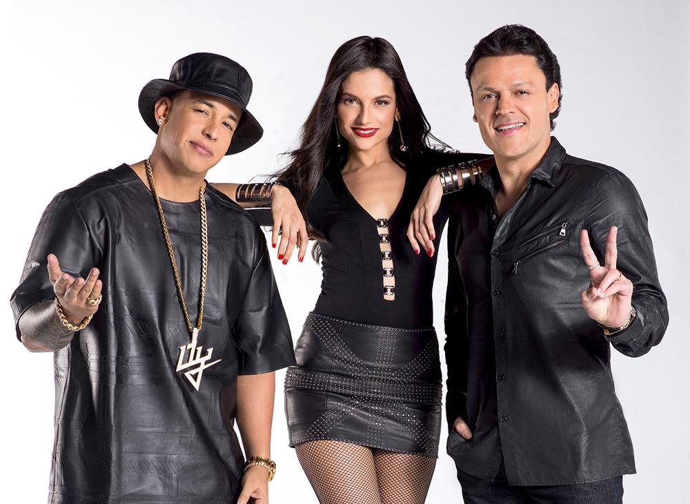 Daddy Yankee, Natalia Jiménez, Pedro Fernández