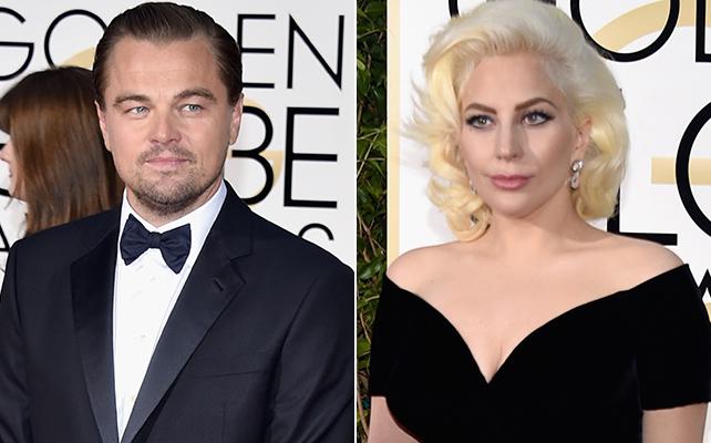 Leonardo DiCaprio, Lady Gaga