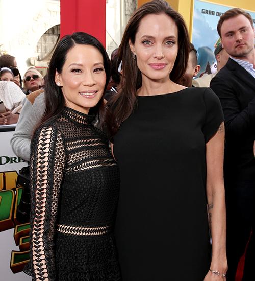 Lucy Liu, Angelina Jolie