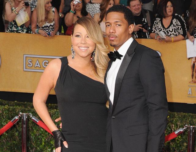 Mariah Carey y Nick Cannon para articulo