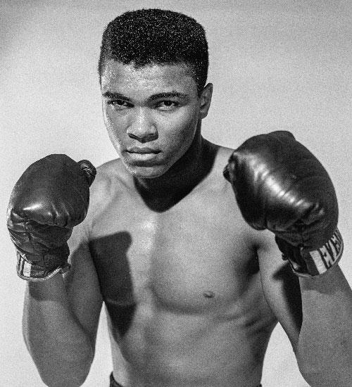 Mohammed Ali, Cassius Clay Jr.