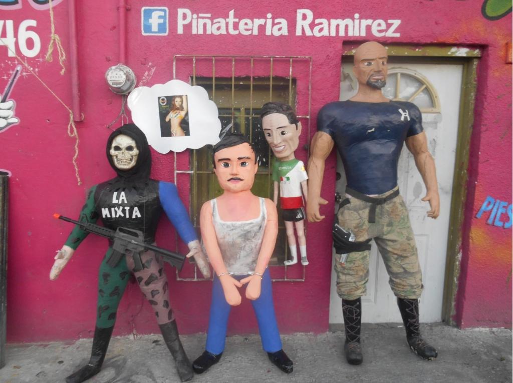 """Piñata de """"El Chapo"""""""
