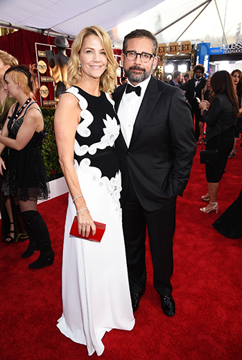 Nancy y Steve Carell
