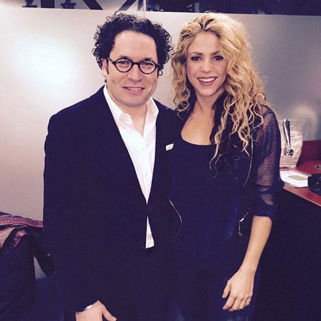 Instagram, Shakira