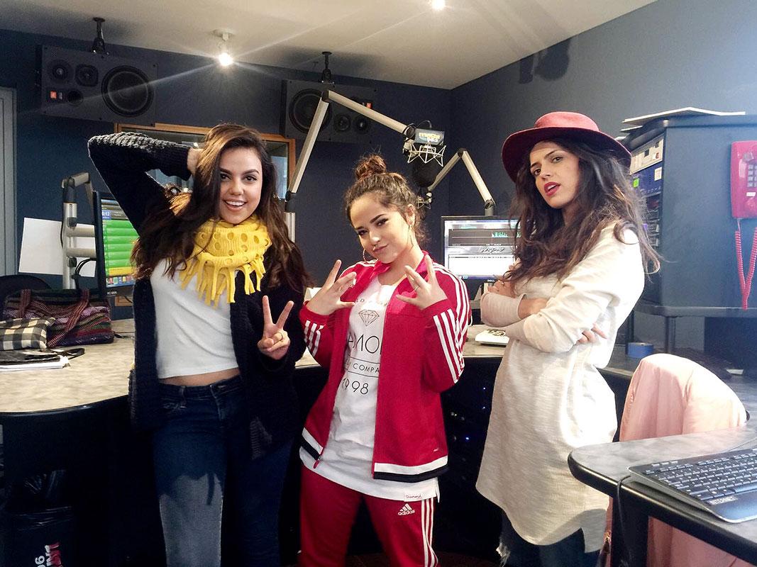 Becky G, Carolina Marquez, Melissa Rios