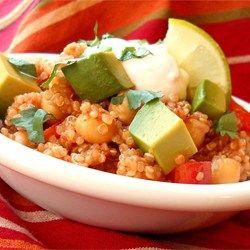 Quinoa estilo Tex-Mex