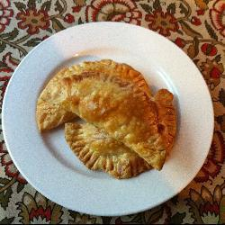 Empanadas de pollo sencillas