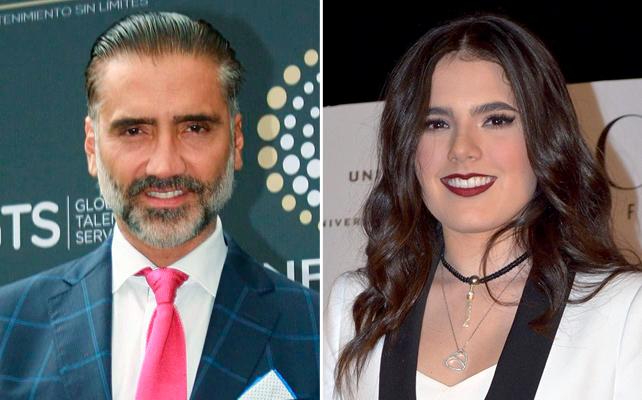Alejandro Fernández y su hija Camila Fernández