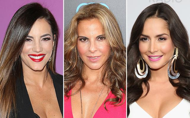 Gaby Espino, Kate del Castillo, y Carmen Villalobos