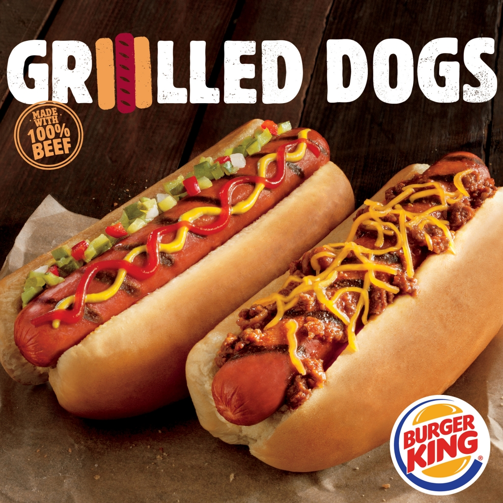 BK Grilled Dogs
