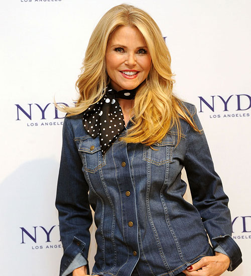 CHRISTIE BRINKLEY, EN 2016