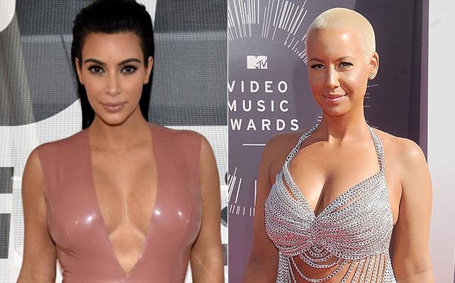 Kim Kardashian y Amber Rose