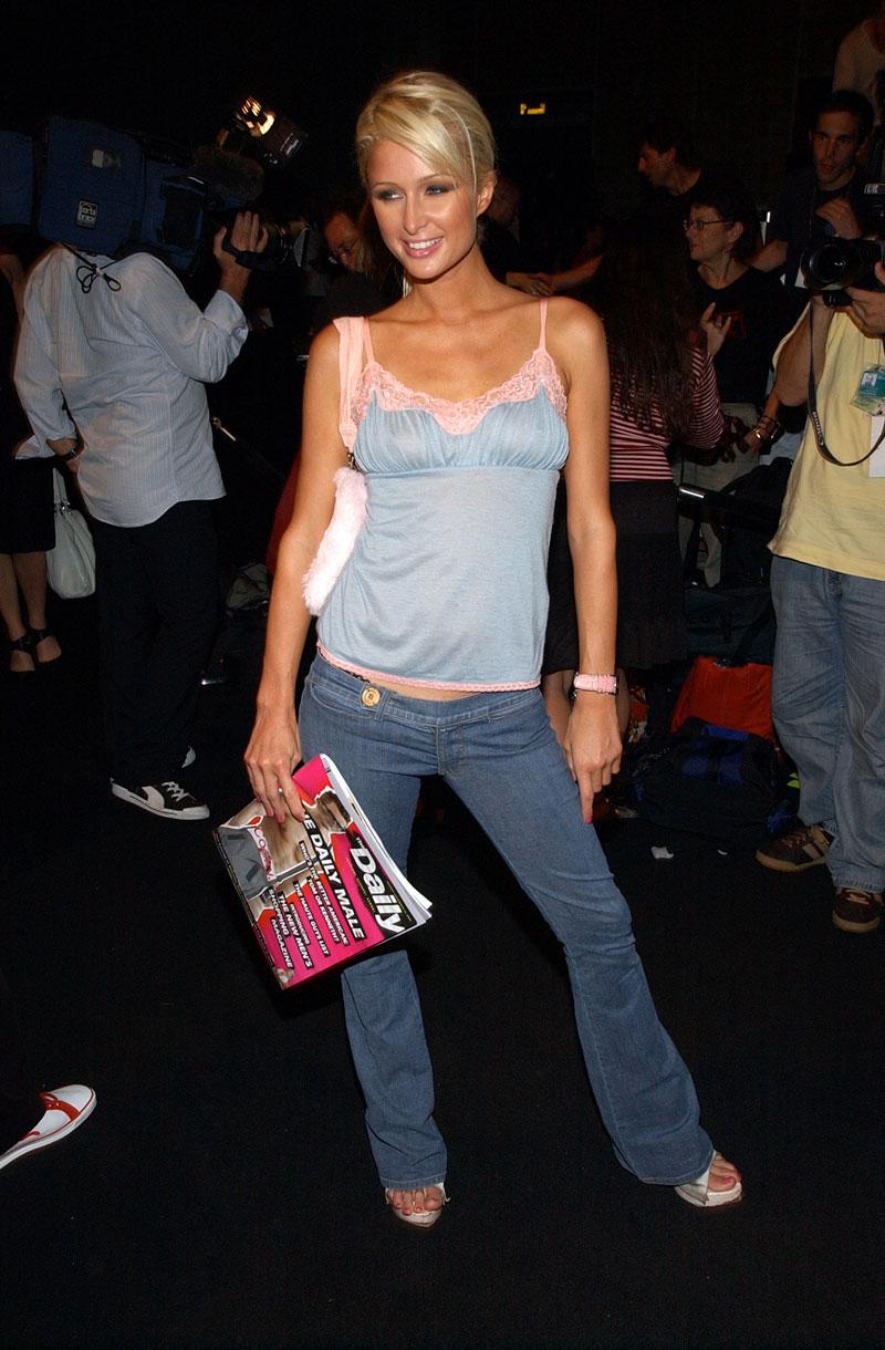 Paris Hilton, su evolución