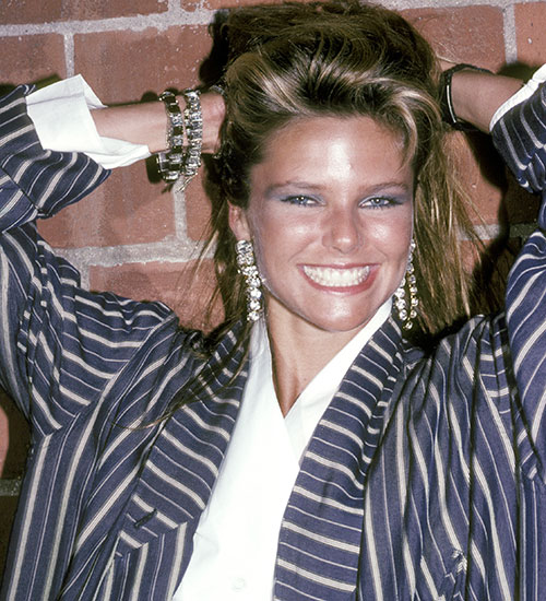 CHRISTIE BRINKLEY, EN 1983