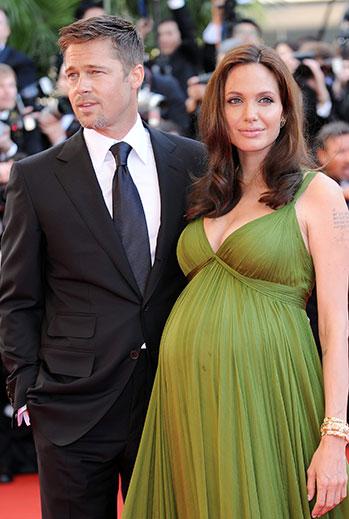 embarazadas, ANGELINA JOLIE