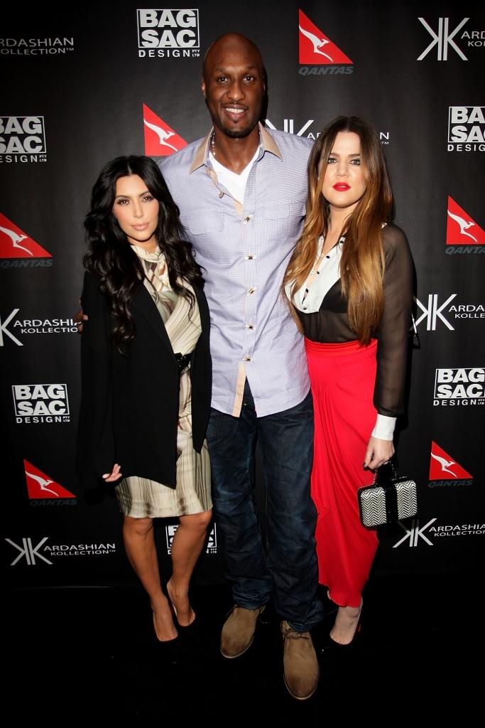 Kim Kardashian, Khloé Kardashian, Lamar Odom