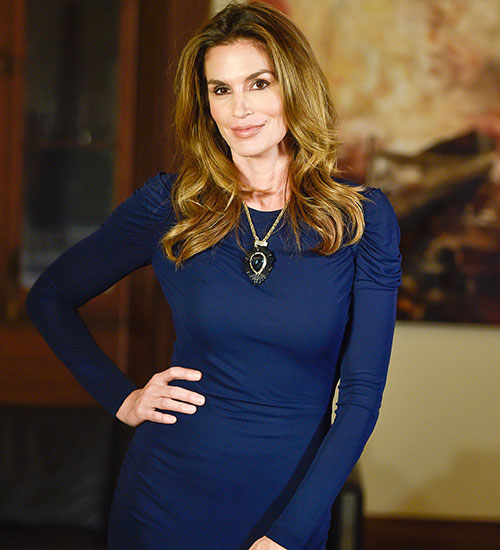 CINDY CRAWFORD, EN 2015