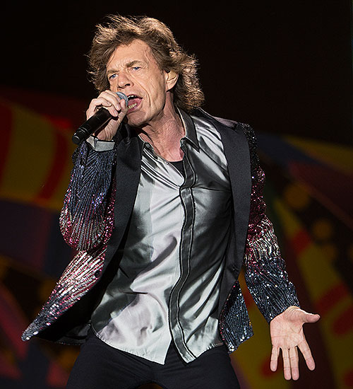 Miralos, Mick Jagger, The Rolling Stones