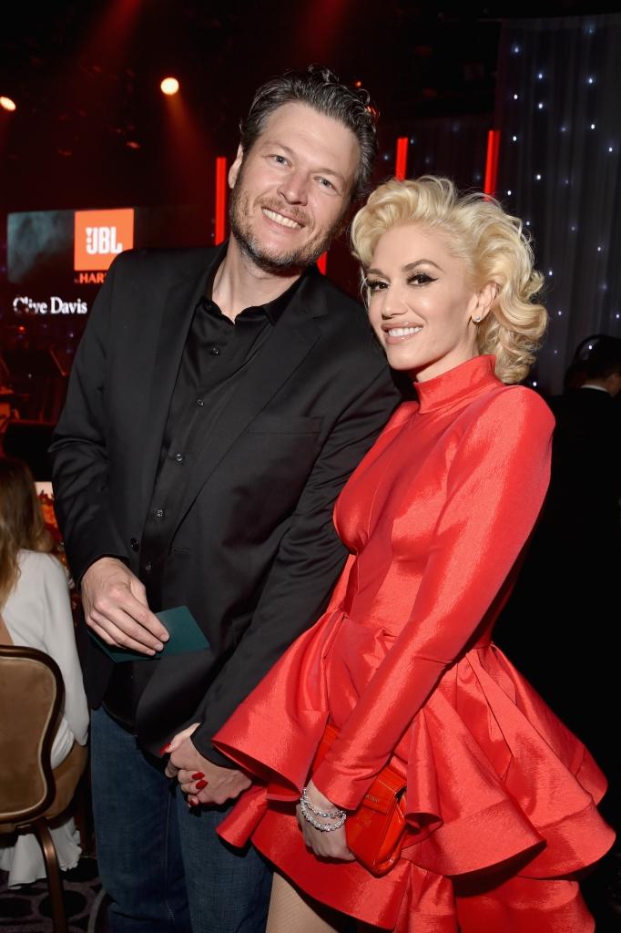 Blake Shelton y Gwen Stefani