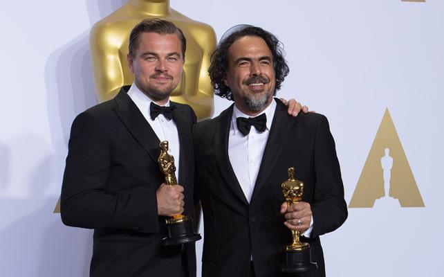 Leonardo DiCaprio y Alejandro González Iñarritu