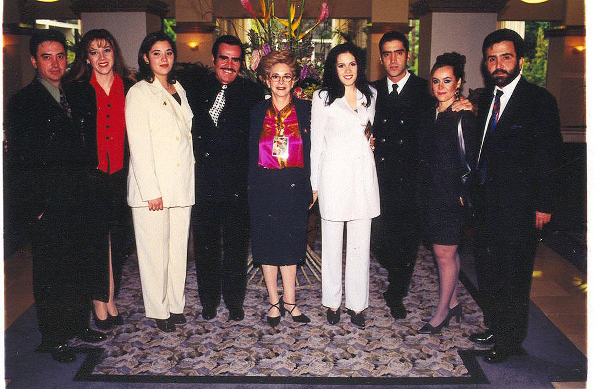 Vicente Fernández, fotos del recuerdo