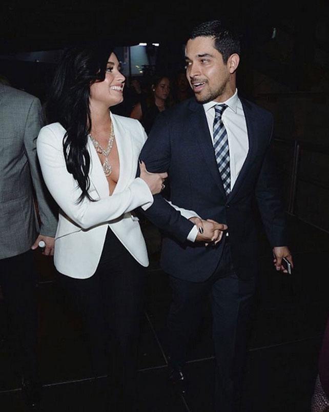 Demi Lovato, Wilmer Valderrama, historia de amor