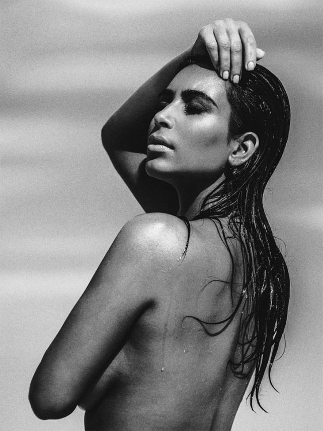 Kim Kardashian desnudos