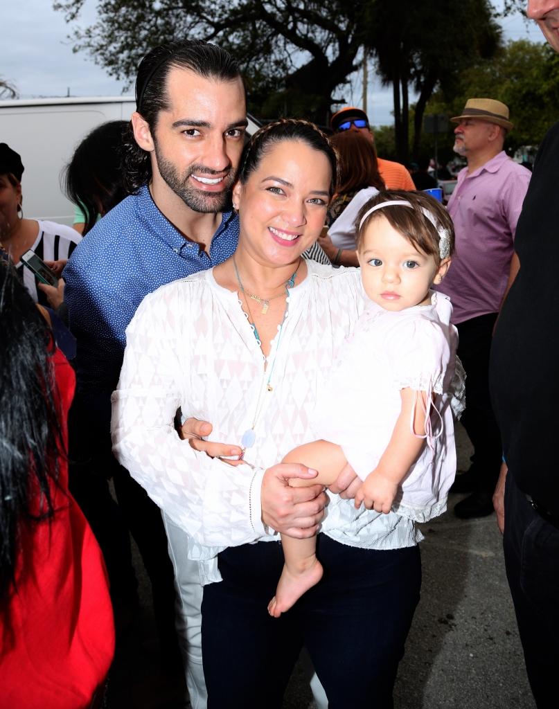 Adamari López, Toni Costa, hija Alaïa