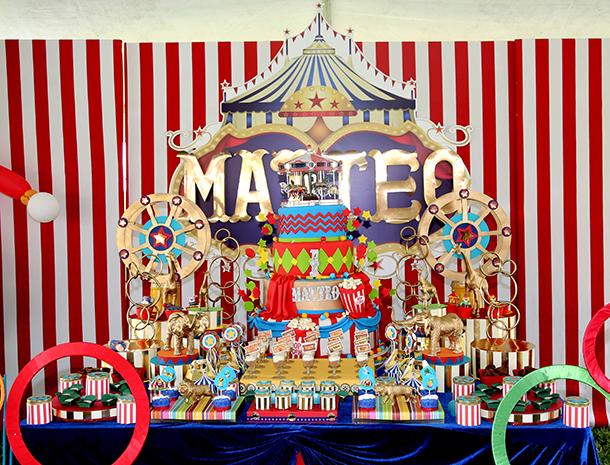 Cumpleaños de Matteo